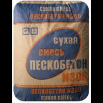 Сухая смесь  М300 пескобетон