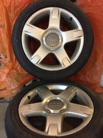 колесо зимнее (не шипованное 1шт) R16 5x112 на Audi,MB,VW