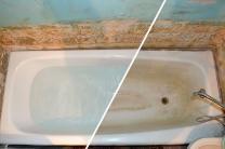 Реставрация ванн - жидким акрилом за 2 часа