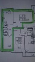2 ух комнатная квартира в Саратове