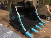 Скальный сверхусиленный ковш для экскаватора