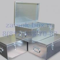 Ящик металлический для инструмента 500х250х200 из оцинкованного металла