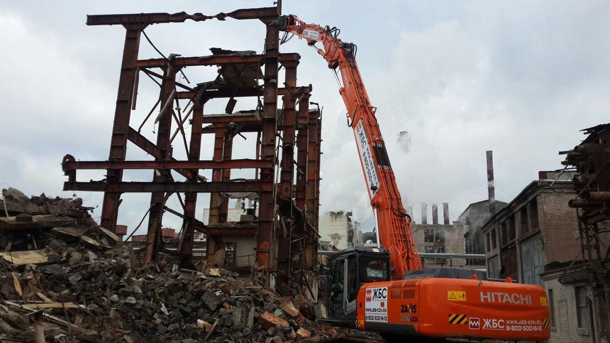 Демонтаж зданий и сооружений под ключ. Снос. | фото 1 из 1