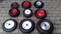 колеса пневматические протекторная резина надувные д 260 мм