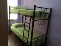 Кровати двухъярусные, односпальные на металлокаркасе для гостиниц, хостелов, рабочих