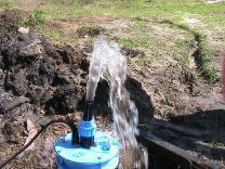 Чистка водоносных источников(скважин).