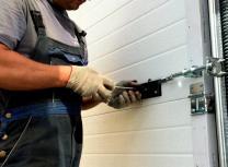 Ремонт и обслуживание секционных гаражных ворот