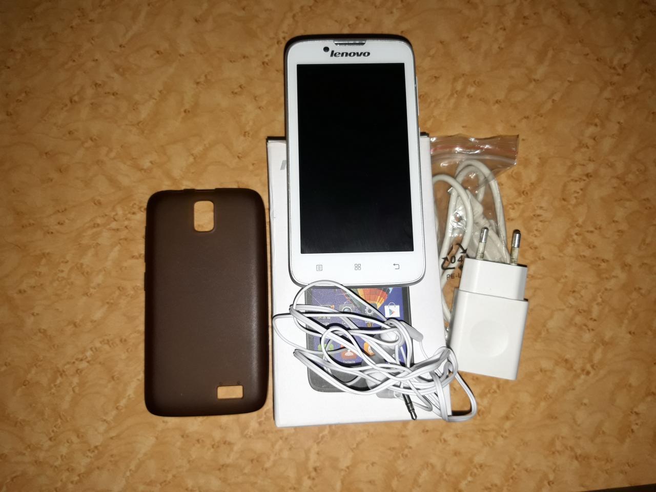 Смартфон Lenovo A328 (белый) | фото 1 из 1