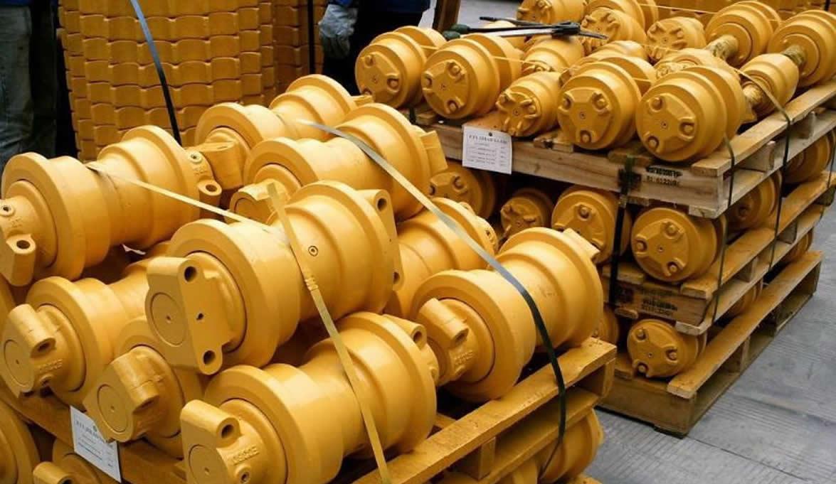 катки опорные для экскаваторов и бульдозеров   фото 1 из 1