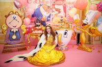 Декор из мультфильма «Красавица и чудовище» для детских мероприятий