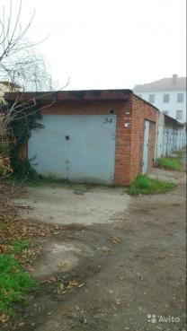 капитальный гараж 21,2кв