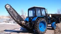 Услуги трактора, экскаватора, грунтореза, гидромолота, бурояма.