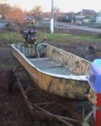 лодка с болотоходом | фото 3 из 4