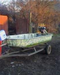 лодка с болотоходом | фото 2 из 4