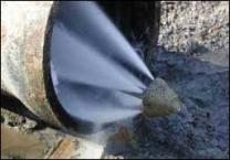 Прочистка наружной канализации.