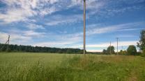 Семь гектар земли рядом с посёлком