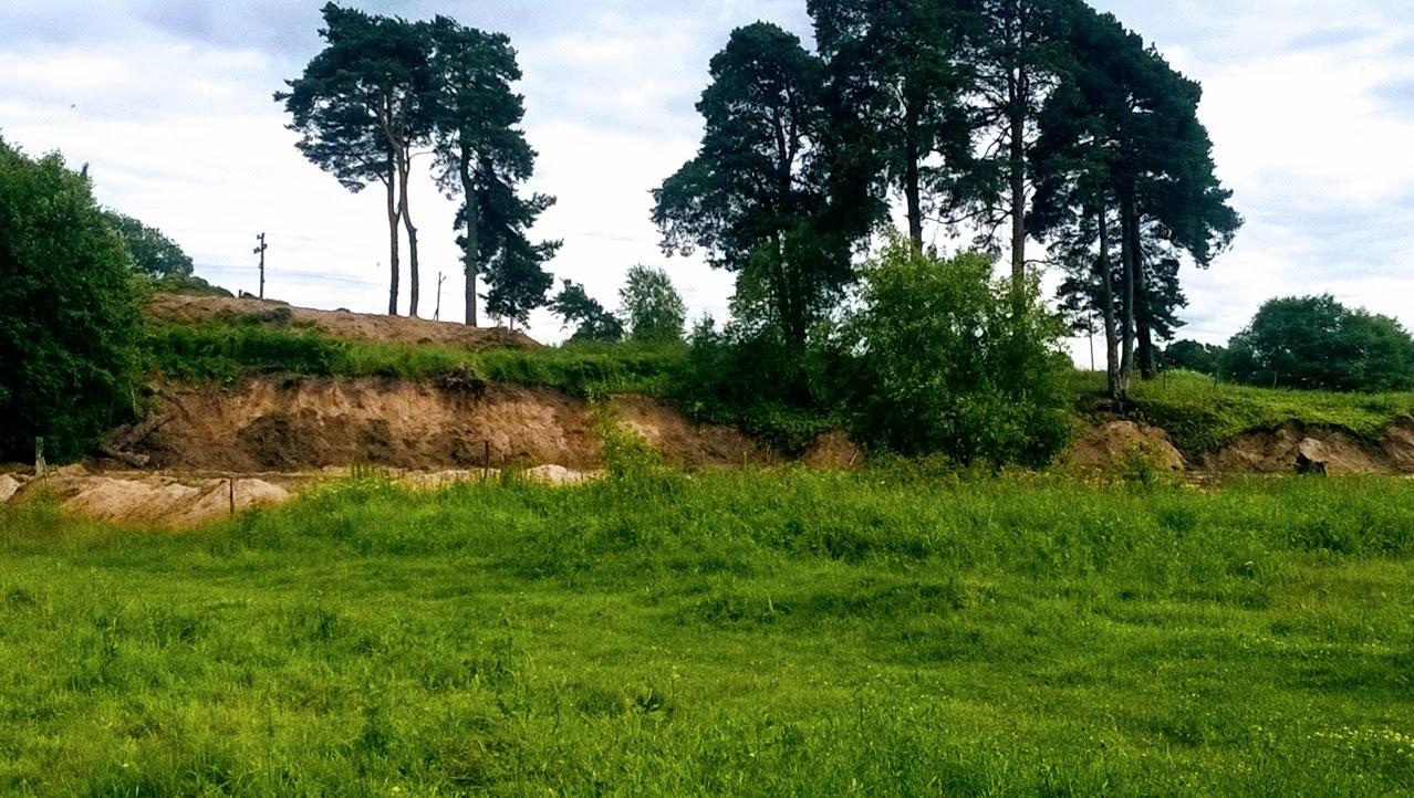 Участок 16 соток в петле реки под Псковом | фото 1 из 6