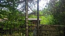 Участок 25 соток ИЖС в лесу, бытовка и баня