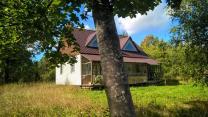 Блочный дом на хуторе, своя газ. ветка, 7 га. земли