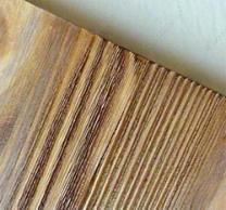 Старение древесины брашировка