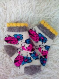 Шерстяные носки оптом от производителя.