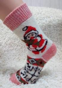 Шерстяные носки и рукавицы от производителя оптом.