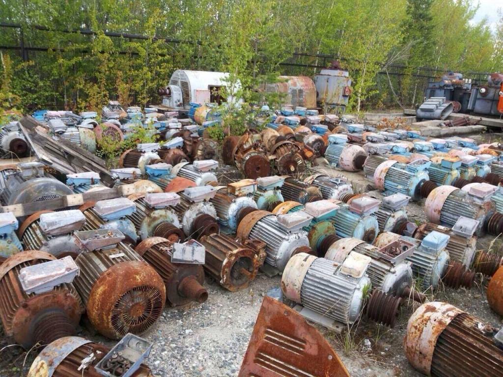 Покупаем электродвигатели сгоревшие | фото 1 из 4