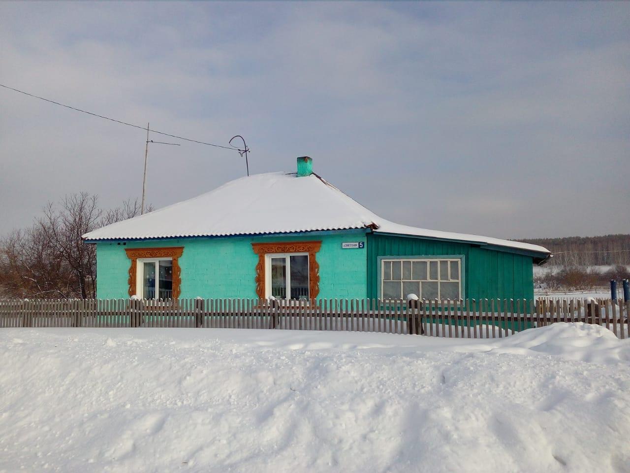 Дом в селе Лушниково Алтайский край Тальменский район. 3 комнаты и кухня | фото 1 из 6