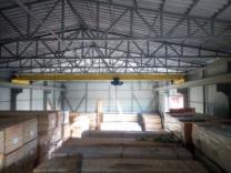 Продам Опоры и навес (металлоконструкции) однобалочного опорного крана