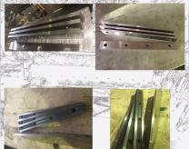 Изготовление ножей для гильотинных ножниц, комбинированных пресс-ножниц и станков для рубки арматуры серии СМЖ