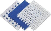 Модульная конвейерная лента 25-806 Лента открытого типа с шагом 25 мм, с плоской, гладкой поверхностью.