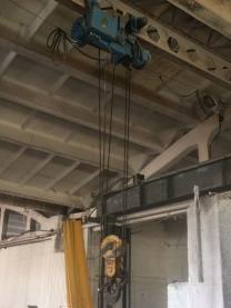 Кран однобалочный подвесной 3,2 тонны