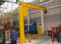 Консольный кран BZD1 грузоподъемность 1 тонна
