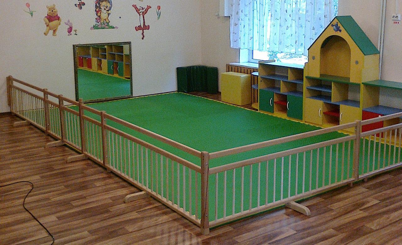 Ограждение, барьер, заборчик для домов ребенка и детских садиков.   фото 1 из 5
