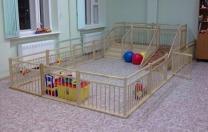 Ограждение, барьер, заборчик для домов ребенка и детских садиков.   фото 4 из 5