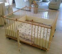 Большой детский деревянный манеж 1.5х1.5м с калиткой   фото 2 из 5