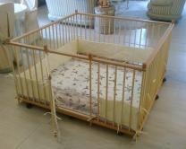 Большой детский деревянный манеж 1.5х1.5м с калиткой   фото 4 из 5