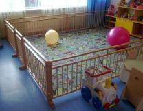Ограждение, барьер, заборчик для домов ребенка и детских садиков.   фото 2 из 5