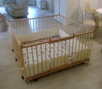Большой детский деревянный манеж 1.5х1.5м с калиткой   фото 3 из 5