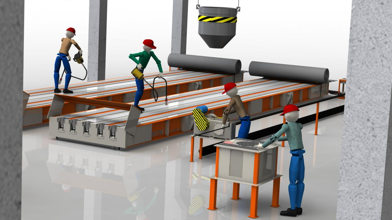 Технологическая  линия по производству световых опор св | фото 1 из 2