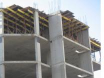 Строительство, монолитные работы с проф. опалубкой