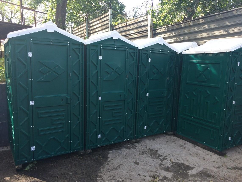 Туалетные кабины б/у, биотуалеты в х/с недорого | фото 1 из 5