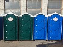 Туалетные кабины б/у, биотуалеты в х/с недорого | фото 2 из 5