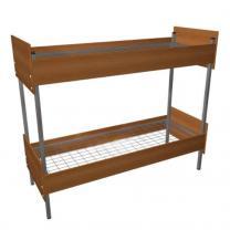 Кровати для санаториев, кровати металлические с деревянной спинкой | фото 2 из 6