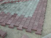 Профессиональная укладка тротуарной плитки.    фото 3 из 4