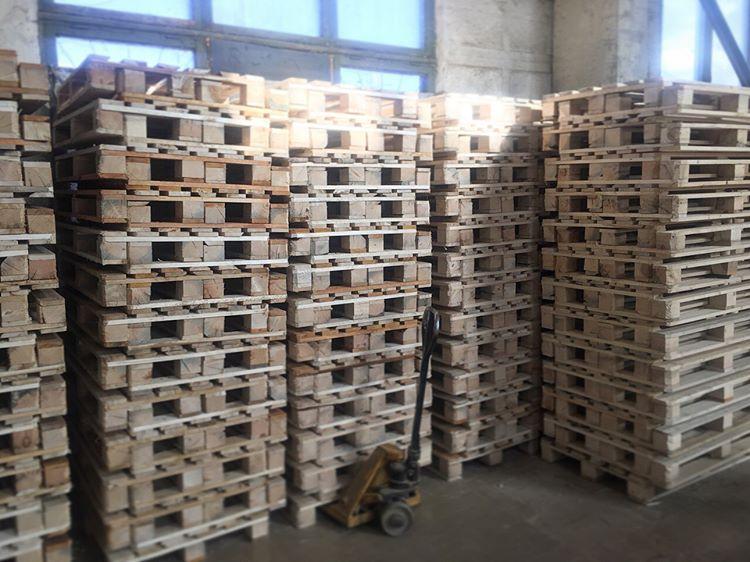 Поддоны деревянные от производителя   фото 1 из 2