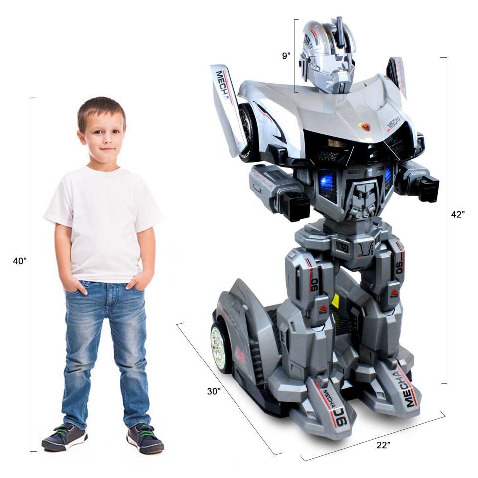 Машинка робот трансформер MECHA   фото 1 из 5