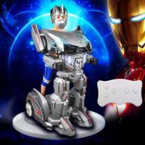 Машинка робот трансформер MECHA   фото 4 из 5