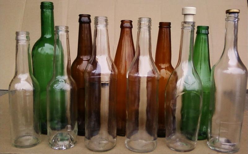Стеклянные бутылки оптом, новые.   фото 1 из 1