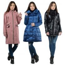 пальто, куртки, плащи и ветровки оптом от производителя | фото 2 из 6